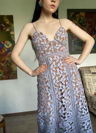 Self-portrait платье в стиле