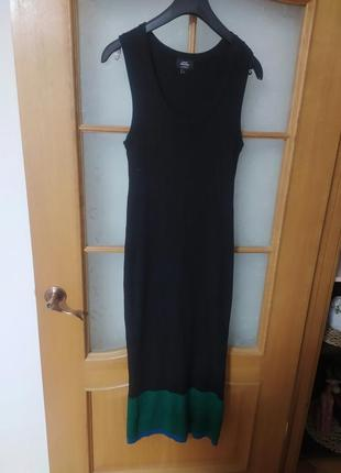 Макси платье в рубчик от avant premier by manor,p. l
