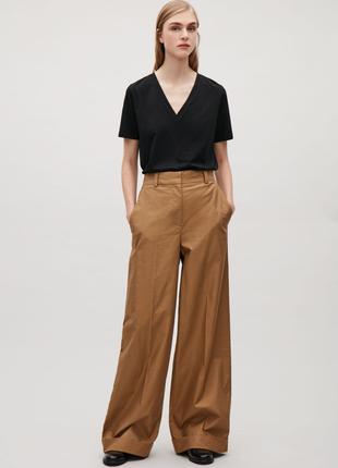 Очень стильные брюки палаццо , широкие брюки большого размера cos 1+1=3