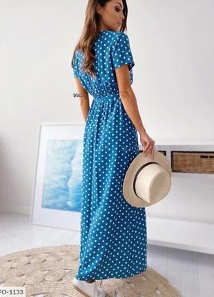 Платье с розрезом🔥🌸6 фото