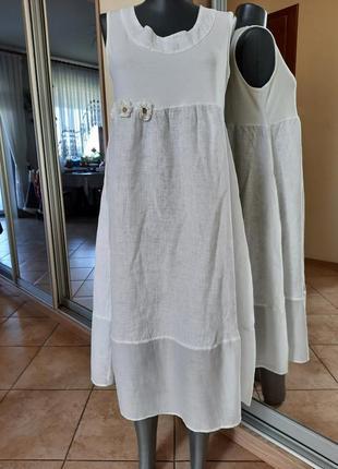 Симпа 💯%льняное платье 👗