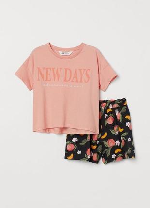 Стильный яркий летний комплект костюм для девочки carter's сша шорты топ футболка