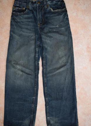 Gap крутые джинсы для парня 8лет(128/134).