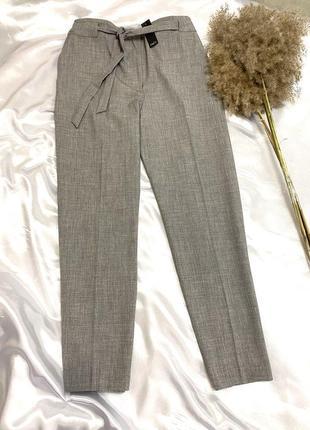 Новые серые брюки штаны с поясом большого размера m&co 1+1=3