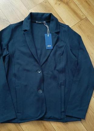 Темно-синій піджак cecil