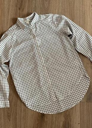 Рубашка свободного кроя h&m р.36/38