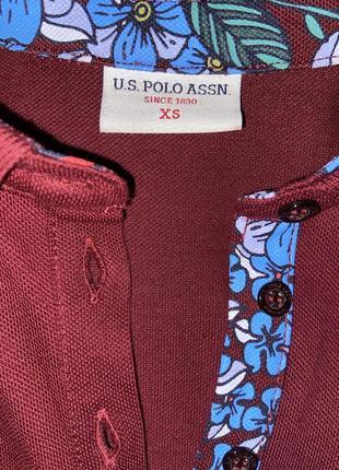 Polo бордового кольору4 фото