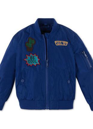 Фирменная утепленная ветровка, куртка c&a, pallomino, р. 116-122, 6 7 лет