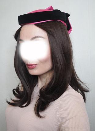 Винтажная шляпка connor в идеальном состоянии шляпа ретро винтаж