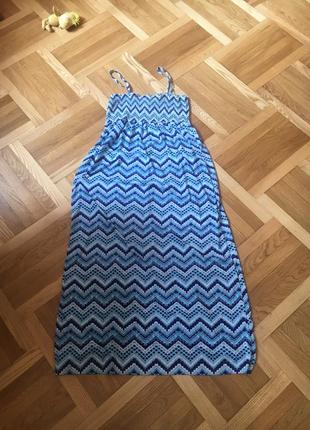Батал большой размер классный легкий летний сарафан сарафанчик платье платьице плаття сукня