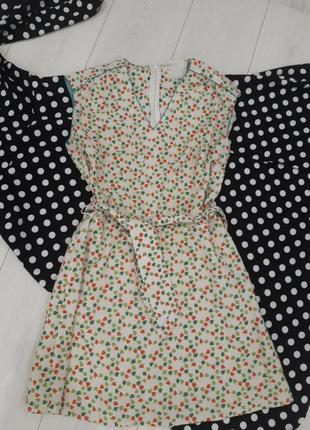 Коротке плаття натуральне