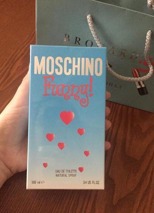 Moschino funny, москино фанни, духи1 фото