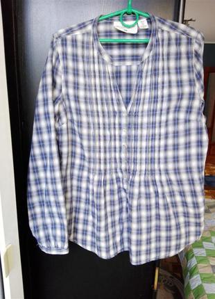 Рубашка в клетку - h&m - logg