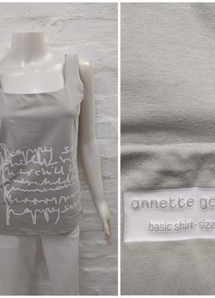Annette gortz оригинальная дизайнерская майка