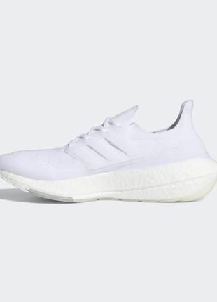 Кроссовки adidas ultraboost 21 cloud whitecloud whitegrey three арт. 7196