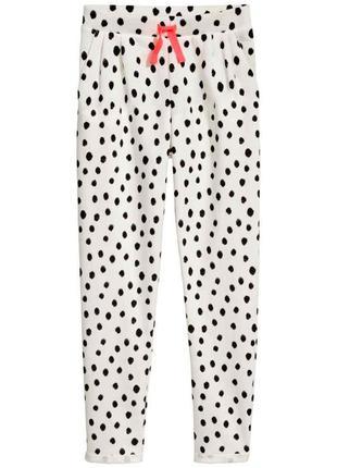 Стильные джогери детские для девочки сортивные штаны h&m нм