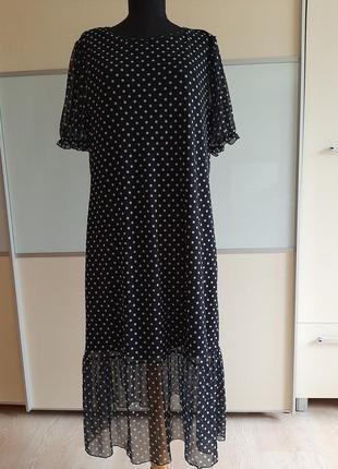 Платье в горох , uk20