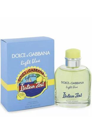 Dolce&gabbana light blue italian zest 125 мл