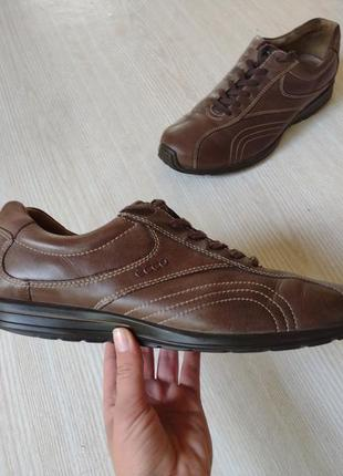 Ecco туфли мокасины кроссовки красовкі туфлі