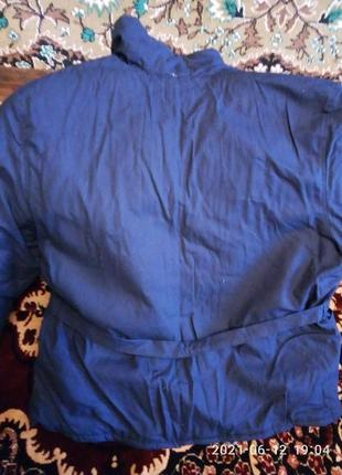 Куртка ватная, бушлат, фуфайка мужская, р.50-52