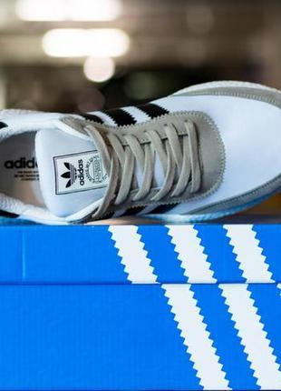 Кроссовки мужские adidas iniki runner footwear white адидас иники белые адики купить