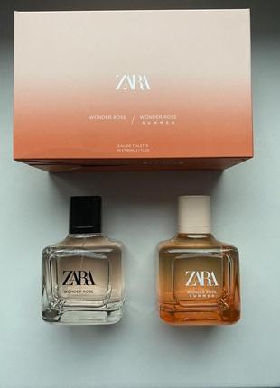 Zara wonder rose/wonder rose summer у наборі 2шт
