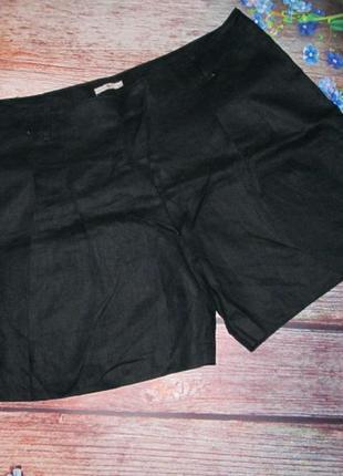 Льняные шорты на пышные формы