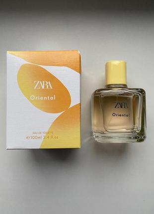 Zara oriental 100мл. оригінал іспанія
