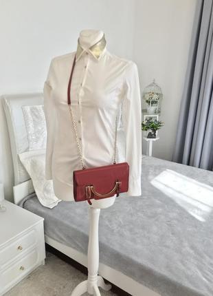 Кожаная сумка из сафьяновой кожи coccinelle оригинал 😍