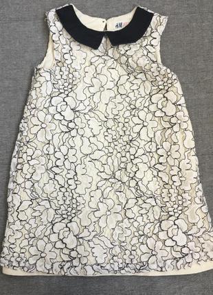 Платье h&m 3-4года