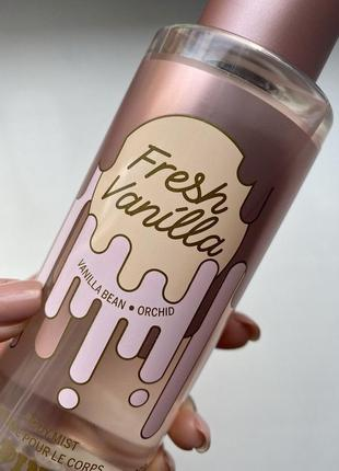 Victoria's secret pink fresh vanilla парфумований спрей для тіла