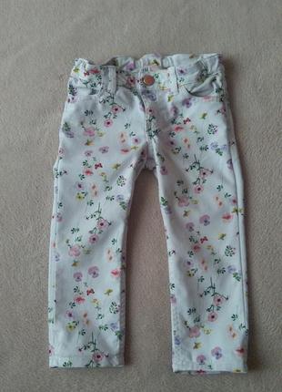 Джинси для дівчинки на літо штанішки штаны летние брюки джинсы