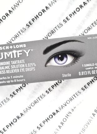 Осветляющие глазные капли lumify redness reliever eye drops