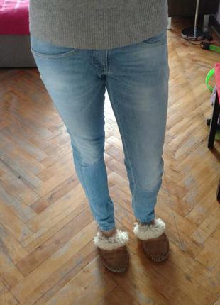 Denny rose, оригинал италия. идеальные голубые скини, скинни, зауженные джинсы. xs. 25-26