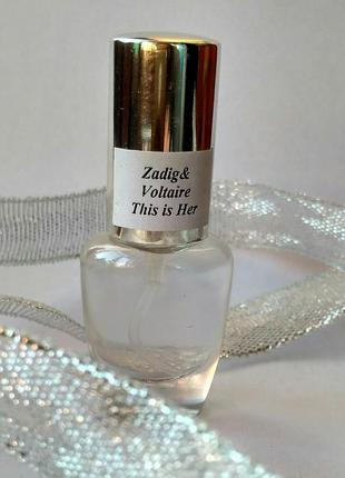 This is her zadig & voltaire, парфум, распив, отливант, 5мл