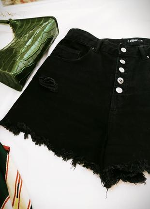 Шорты джинсовые sinsay
