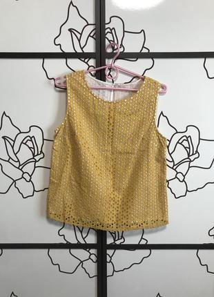 1+1=3 майка блуза топ прошва