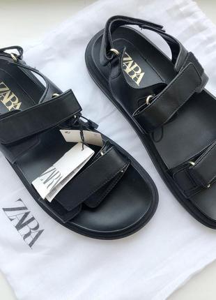 Босоножки сандали zara 39