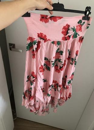 Платье корсет от asos c р пляжное