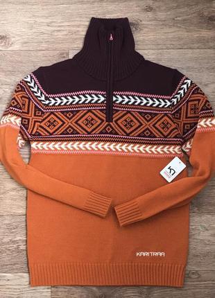 Коллекция шерстяной свитер меринос kari traa норвегия l3 фото