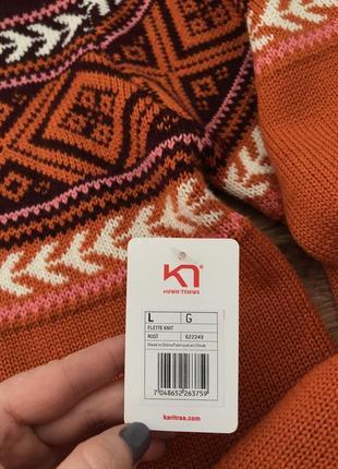 Коллекция шерстяной свитер меринос kari traa норвегия l5 фото