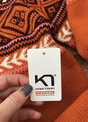 Коллекция шерстяной свитер меринос kari traa норвегия l4 фото