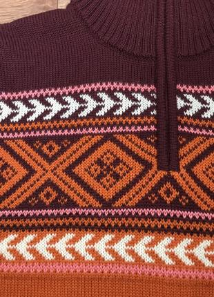 Коллекция шерстяной свитер меринос kari traa норвегия l6 фото