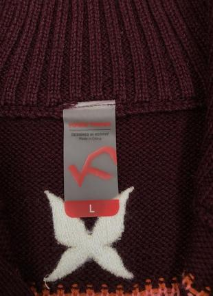Коллекция шерстяной свитер меринос kari traa норвегия l8 фото