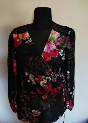 Блуза на запах  next 16uk