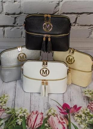 Серебреная женская сумочка / новинка / мода2 фото