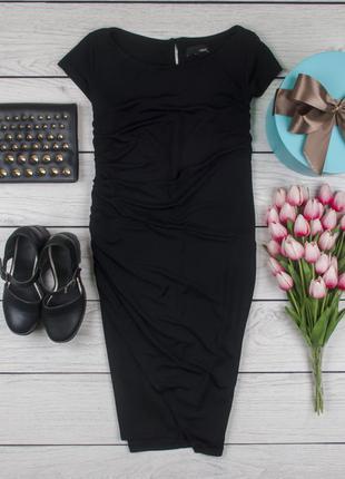 Платье стрейчевое фактурное черное от next размер uk 14 наш р. 48