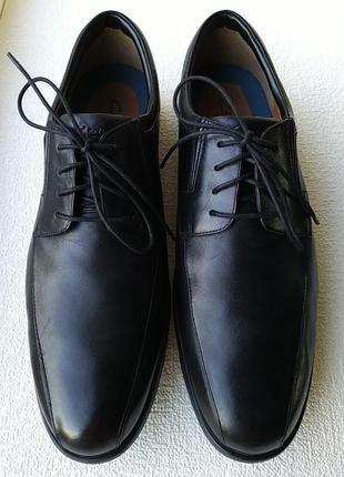 Туфли оксфорды clarks англия.