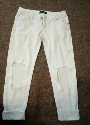Рваные джинсы тонкие на лето