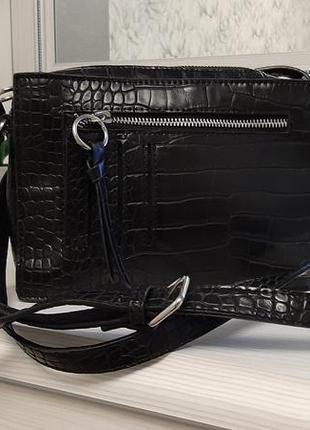 Классная черная сумка next
